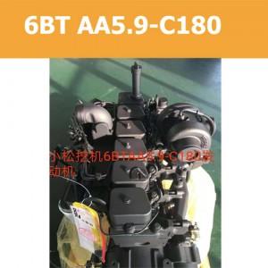 Двигатель 6BT AA5.9-C180